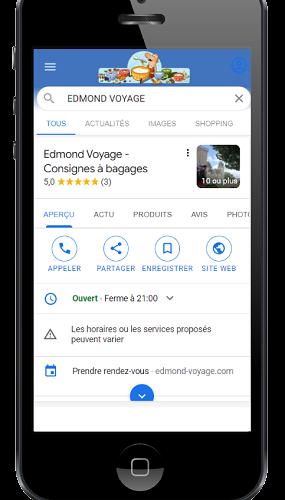visibilité internet pau - faire connaître son site - Référencement Google, récupérez des avis clients avec Google My Business.