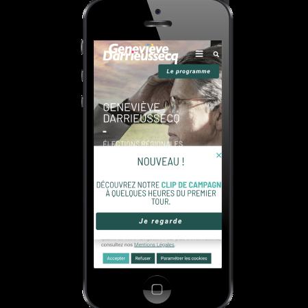 programme Geneviève Darrieussecq