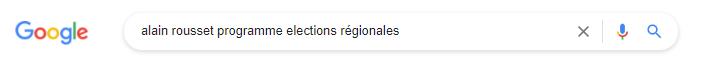 Google alain rousset