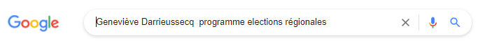 Google Geneviève Darrieussecq